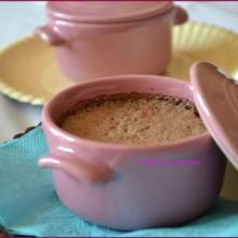 Crèmes au chocolat express en mini-cocotte