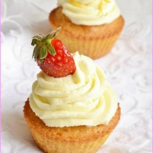Cupcake cOcktail Fraise-Pamplemousse