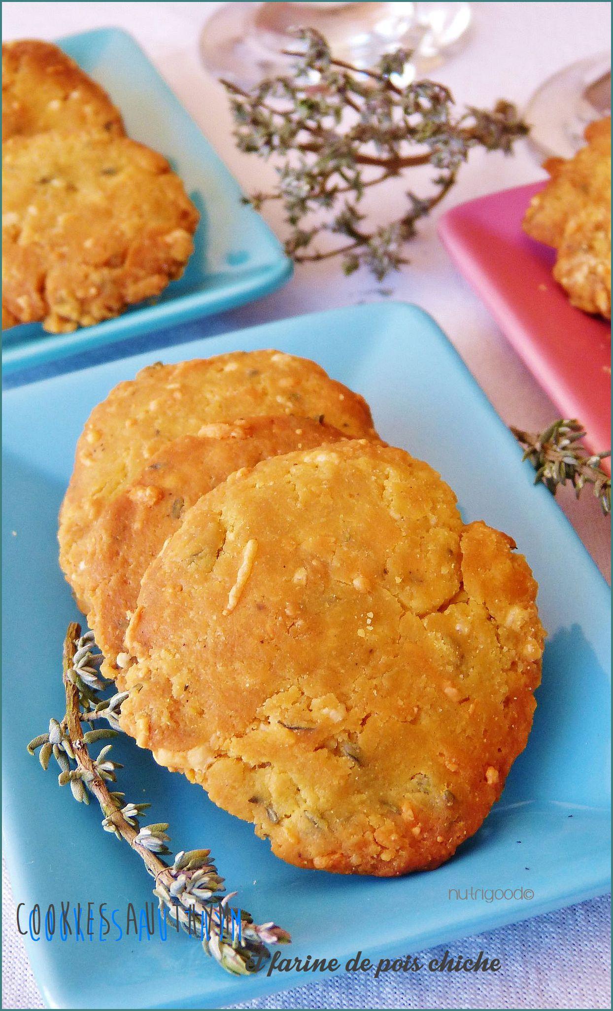cookies salés au thym
