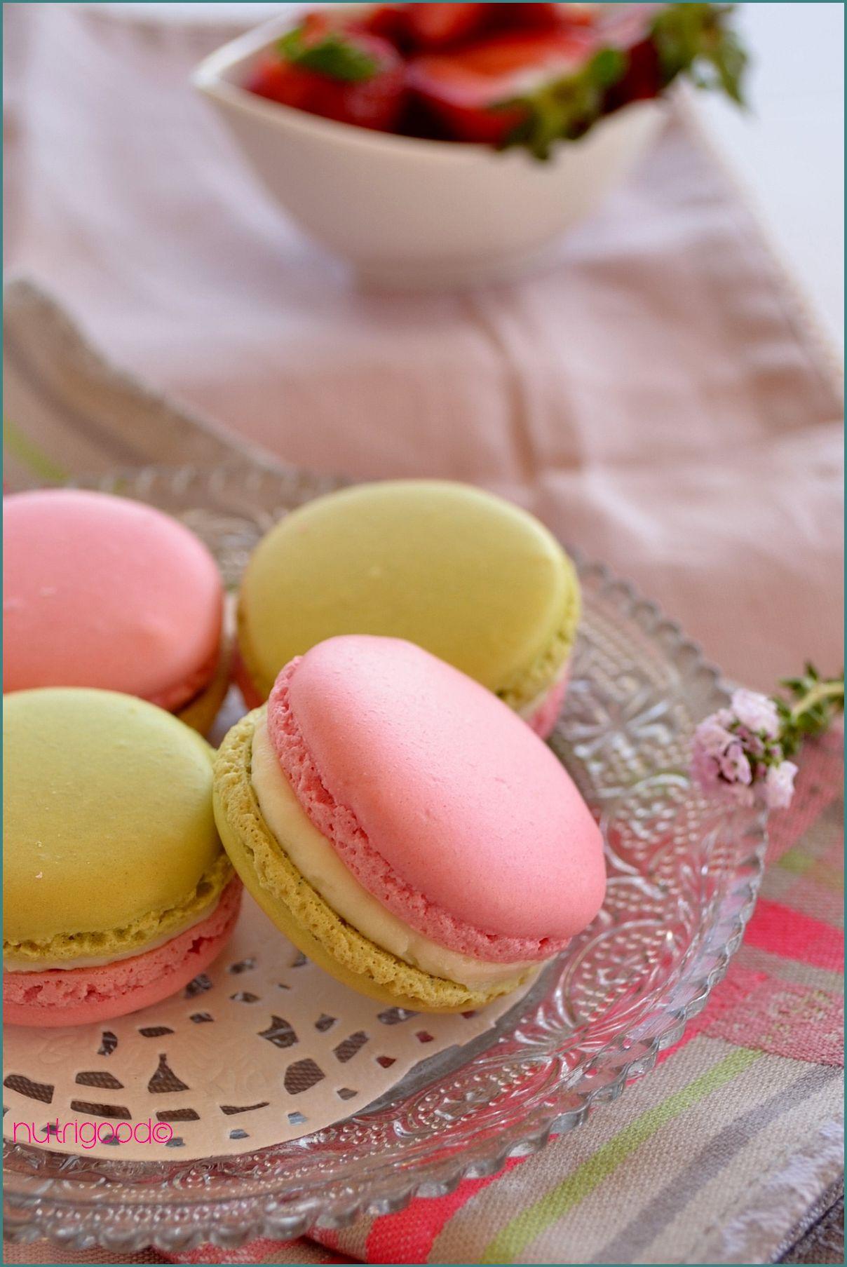 macarons-fraise