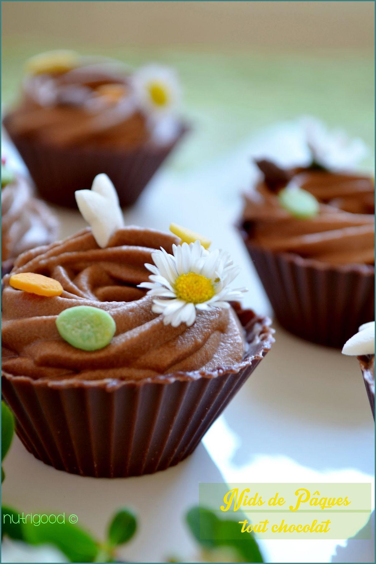 nid de pâques chocolat