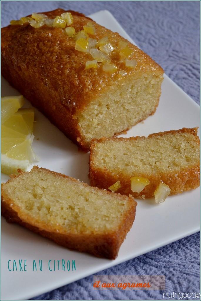 cake au citron, sans gluten