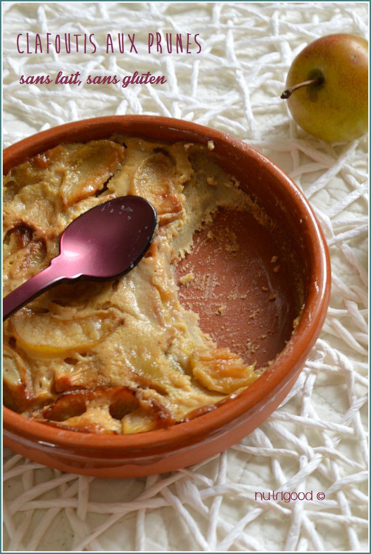 clafoutis sans gluten sans lait