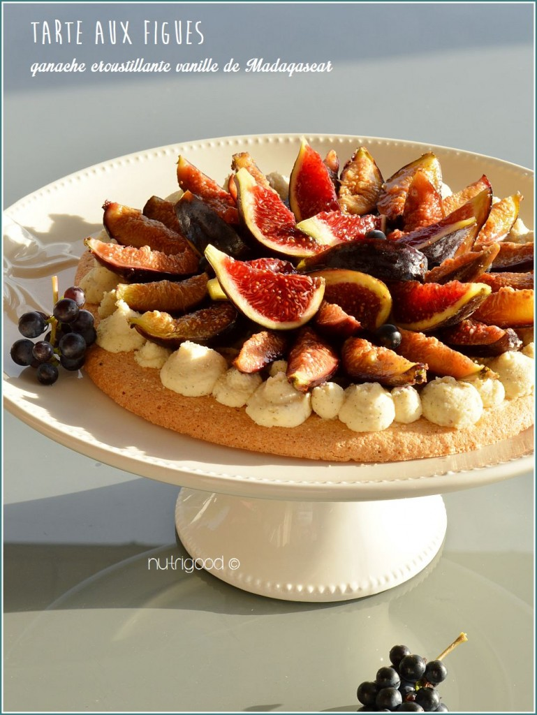 tarte aux figues et la vanille sans gluten nutrigood. Black Bedroom Furniture Sets. Home Design Ideas