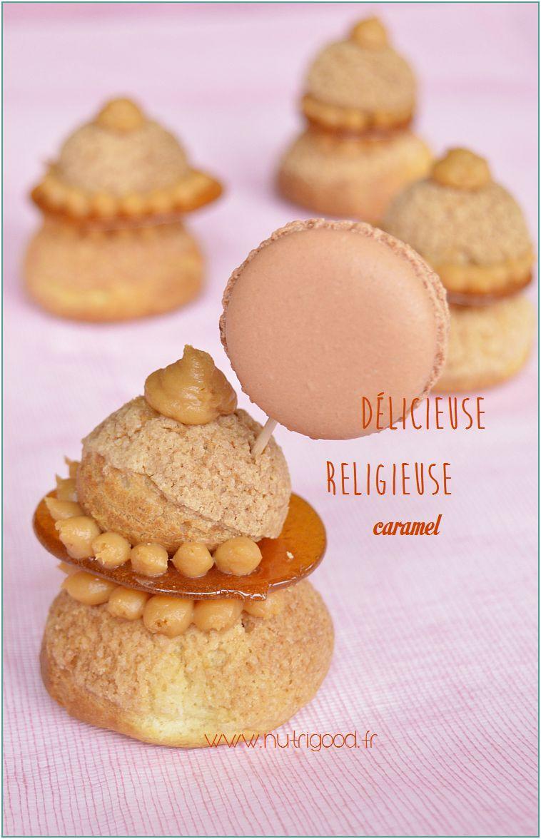 religieuse caramel beurre salé