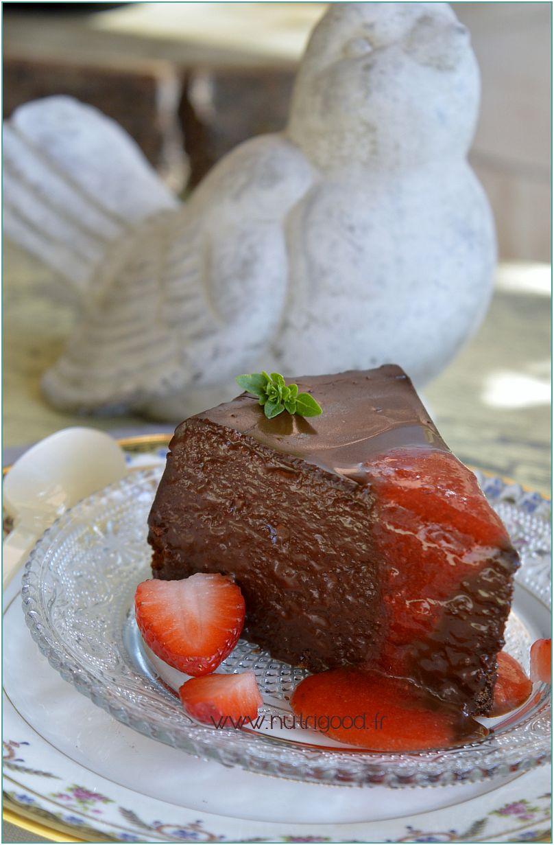 gateau d'anniversaire au chocolat
