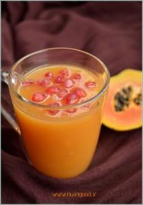 smoothie exotique detox orange papaye
