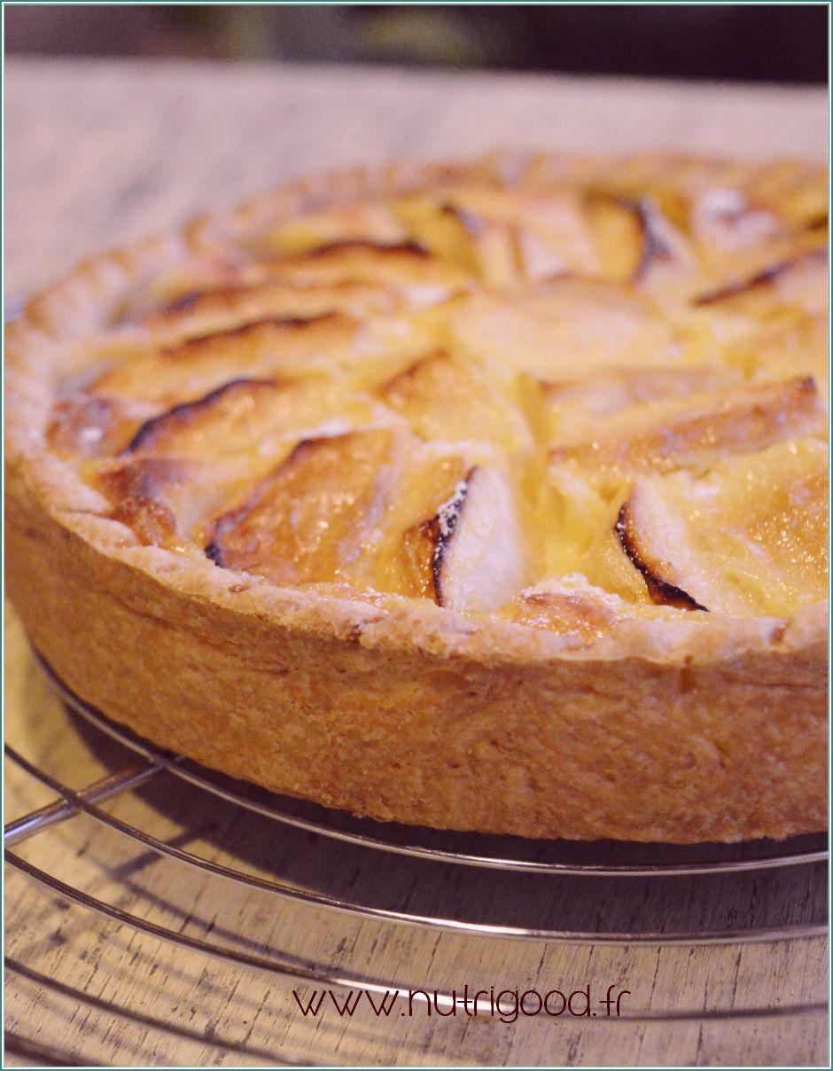 La tarte normande une autre tarte aux pommes nutrigood ateliers de p tisserie cours cuisine 38 - Recette tarte normande traditionnelle ...