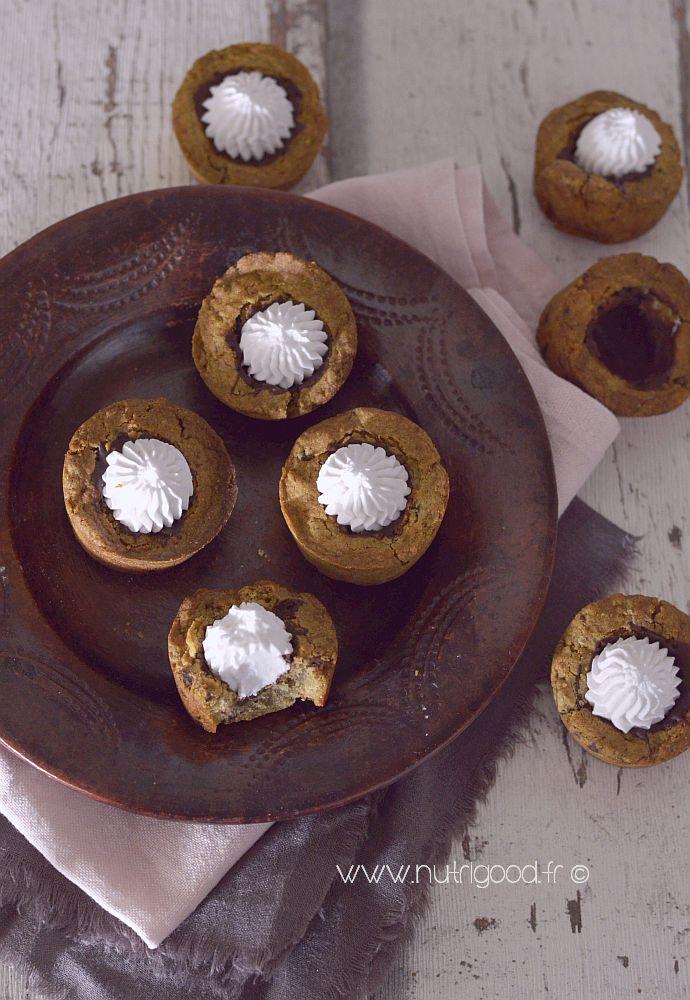cookie shot chocolat sans gluten