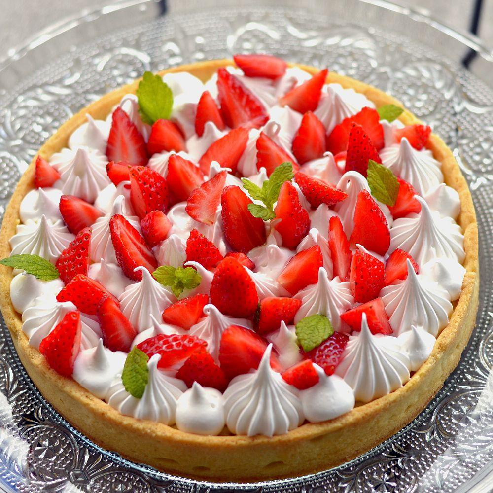 Tartelettes fraises framboises fruits rouges