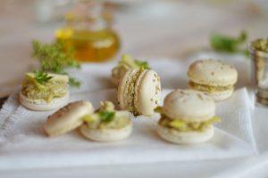 recette macarons-sales-artichaut-truffe-pomme