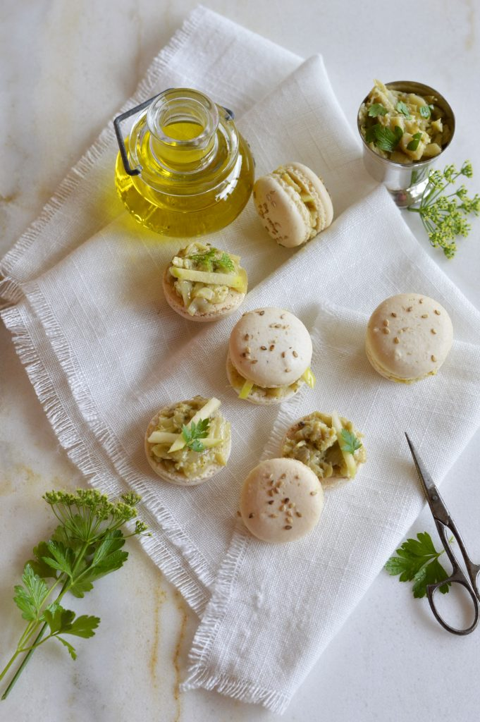 macarons sales artichauts truffe pomme