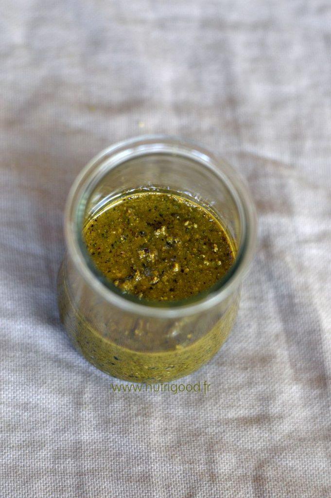 recette pâte de pistache maison