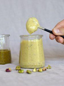 creme patissière purée de pistache maison