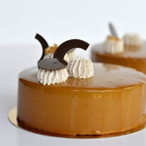 atelier patisserie entremets chocolat caramel recette glacage