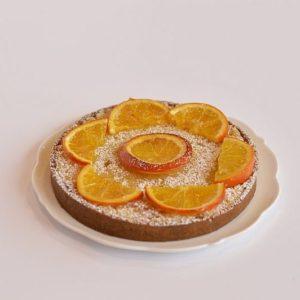 tarte frangipane orange cours patisserie enfants Lyon Vienne Isere