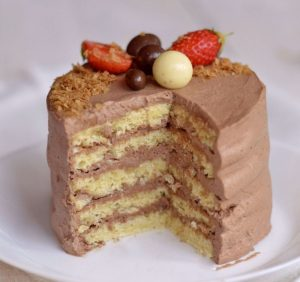cours patisserie enfants layer cake chocolat