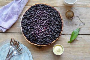 tarte aux myrtille de Cédric Grolet