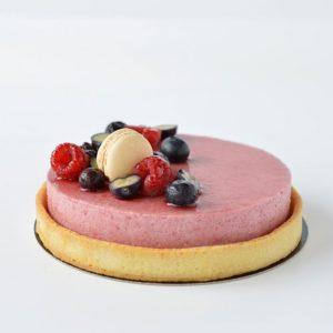 atelier patisserie Vienne mutine-tarte-mousse-fruits-rouges-fruits-noirs