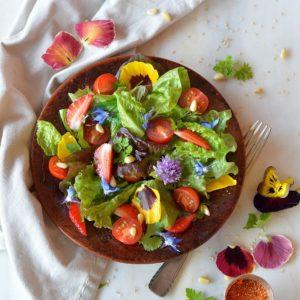 salade de fleurs atelier nutrigood