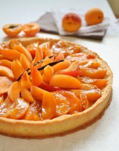 crumble tarte abricots cours patissserie enfants Bourgoin
