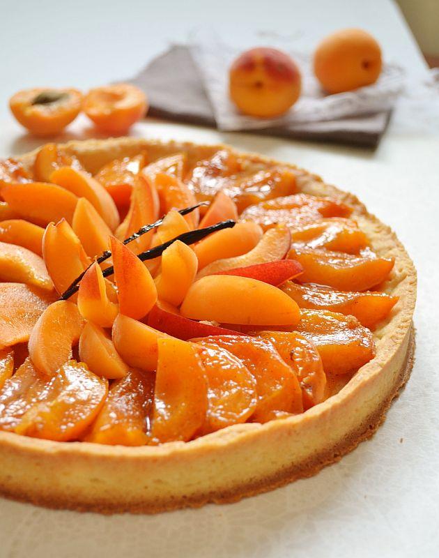 Crumble tarte aux pêches&nectarines (enfants)