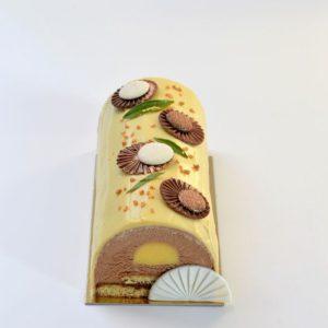 cours patisserie Vienne-buche Noel Mandarine chocolat