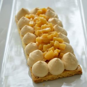 cours patisserie enfant sable breton caramel beurre salée pistaches caramelisees