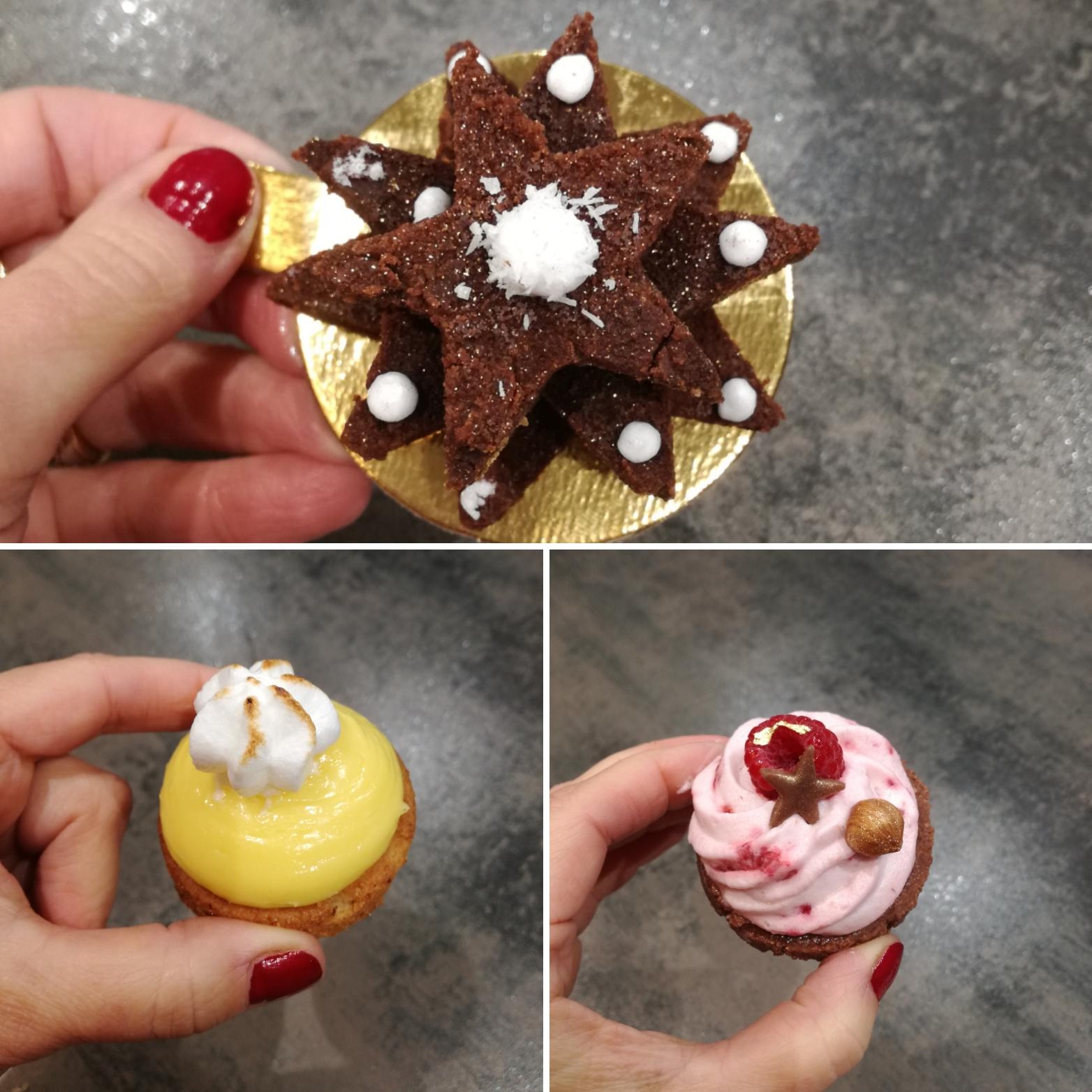 Desserts Noel faciles-dressage à l'assiette