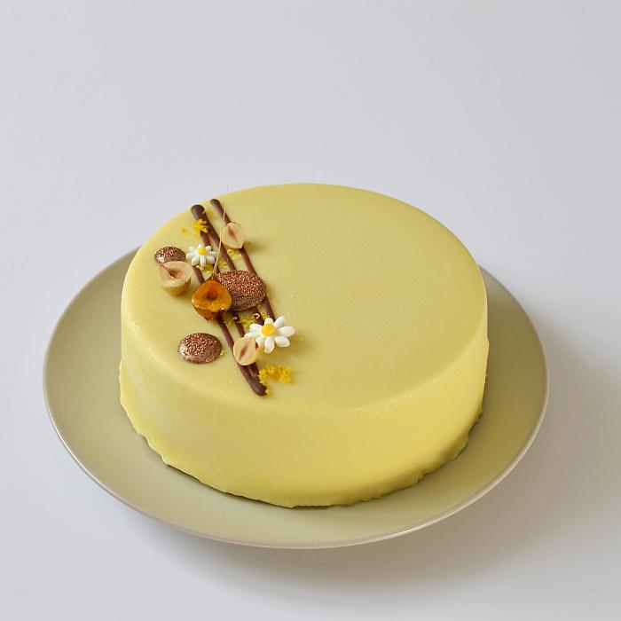 Noisette & Zest' – entremets noisette citron