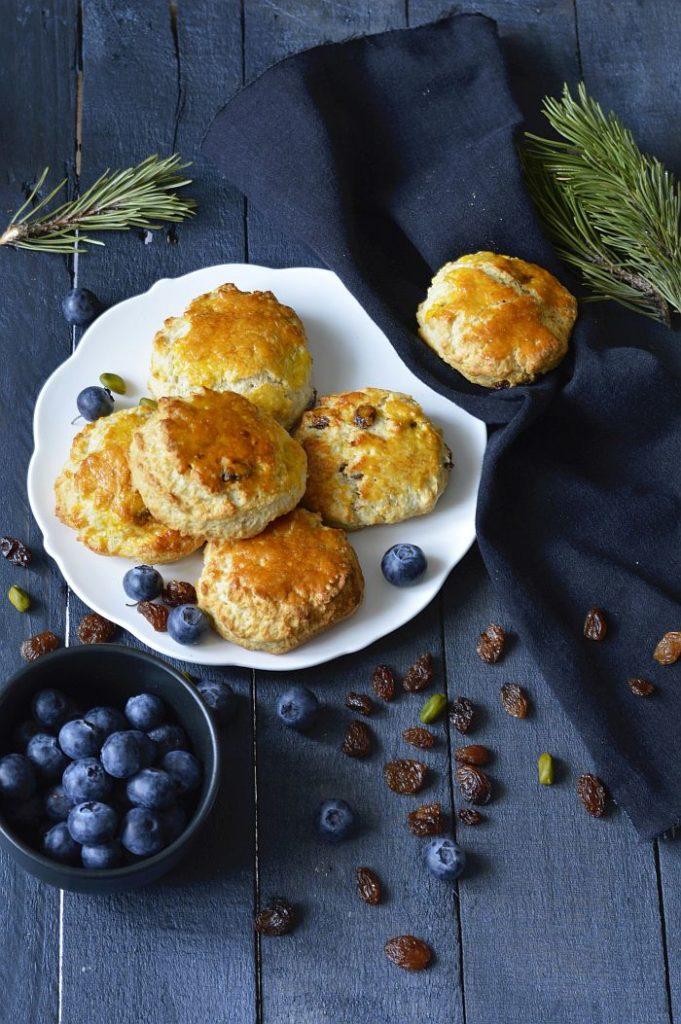 recette de scones aux raisins secs