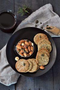 recette de sablés salés amandes courges sans gluten