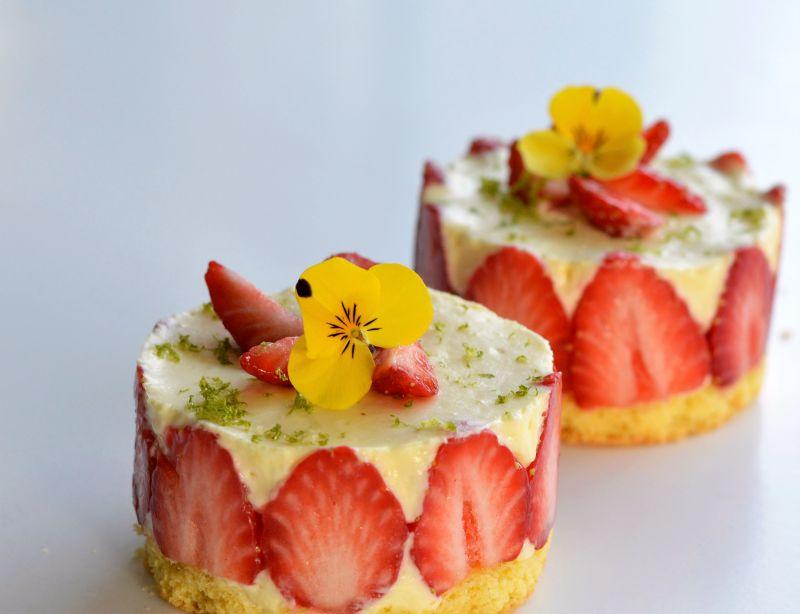 Mon mini-fraisier