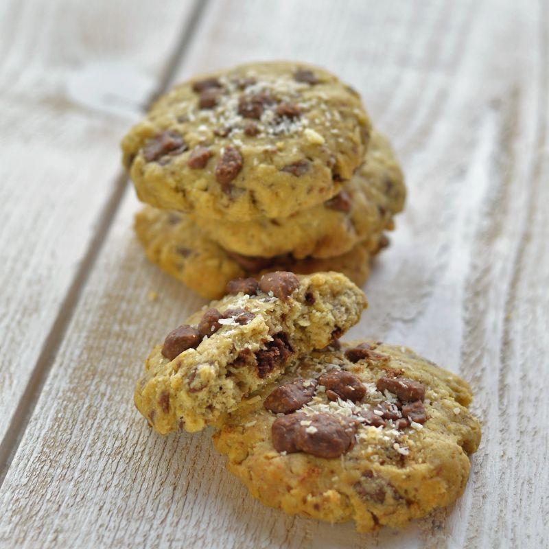 recette cookies chocolat lait sans sucre_cours de patisserie Isère