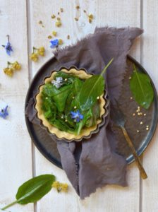 cours de cuisine recette trate salée blette épinard sarrasin