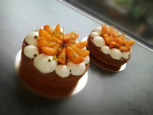 Atelier patisserie 7 13 ans Vienne 38200gateau abricots romarin pistache