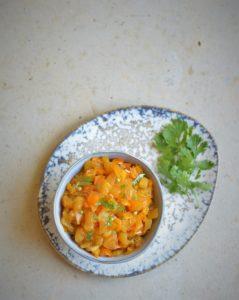 recette aperitif chutney ananas poivron curry