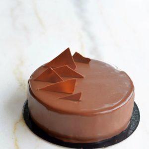entremets 2 chocolat café sans gluten