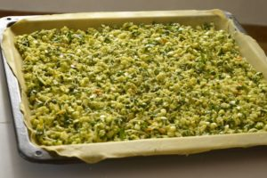 recette de cuisine tourte saorgienne tourte aux courgettes