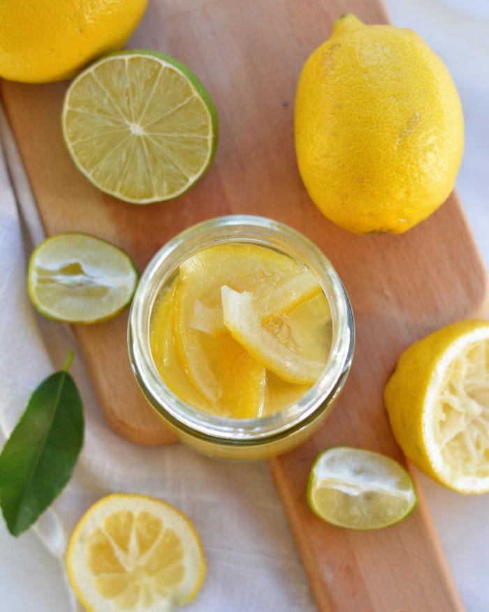 recette citrons confits maison