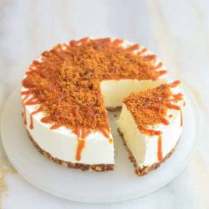 cheesecake speculoos fruits de la passion