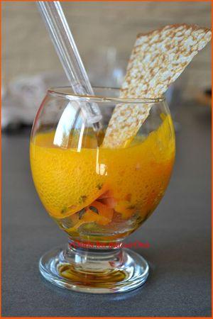 verrine carottes