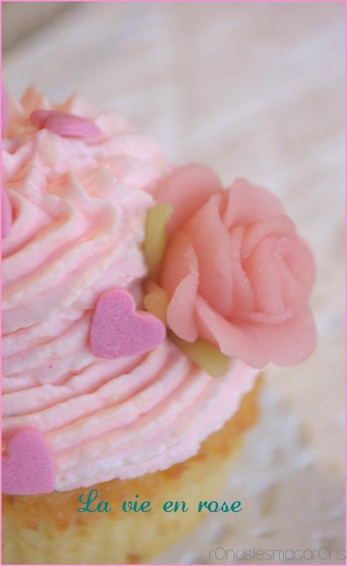 cup cake rose b5