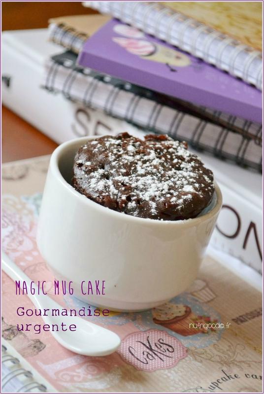 mug cake chocolat 1