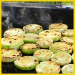 BBQ courgettes B3