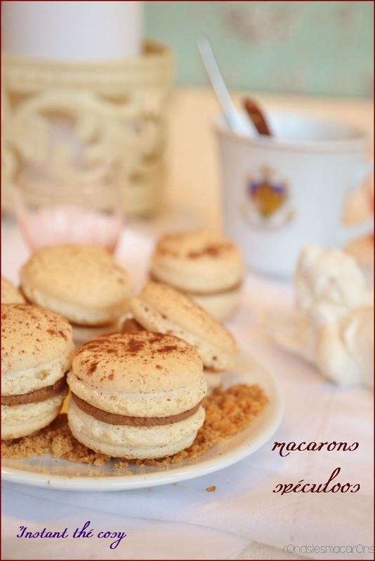 macarons speculoos b3