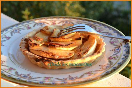 Tartelettes pommes b1