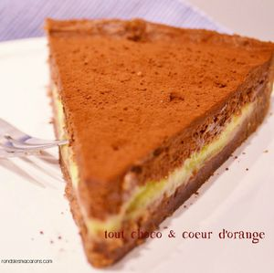 tarte orange choco 2