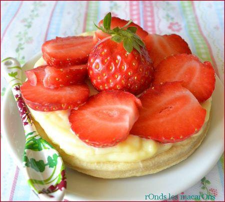 Tarte fraises b2