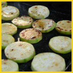 BBQ courgettes B1